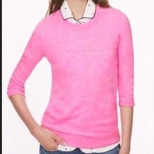 J crew Cashmere Tippi Pink Sweater